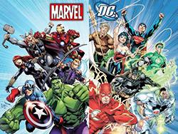 Marvel ve Dc Comics kahramanlarıyla sizi tanıştıralım